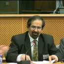 Mr. Essa Azadeh in EU Parliament