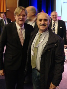 Guy Verhofstadt MEP, ALDE Group Leader