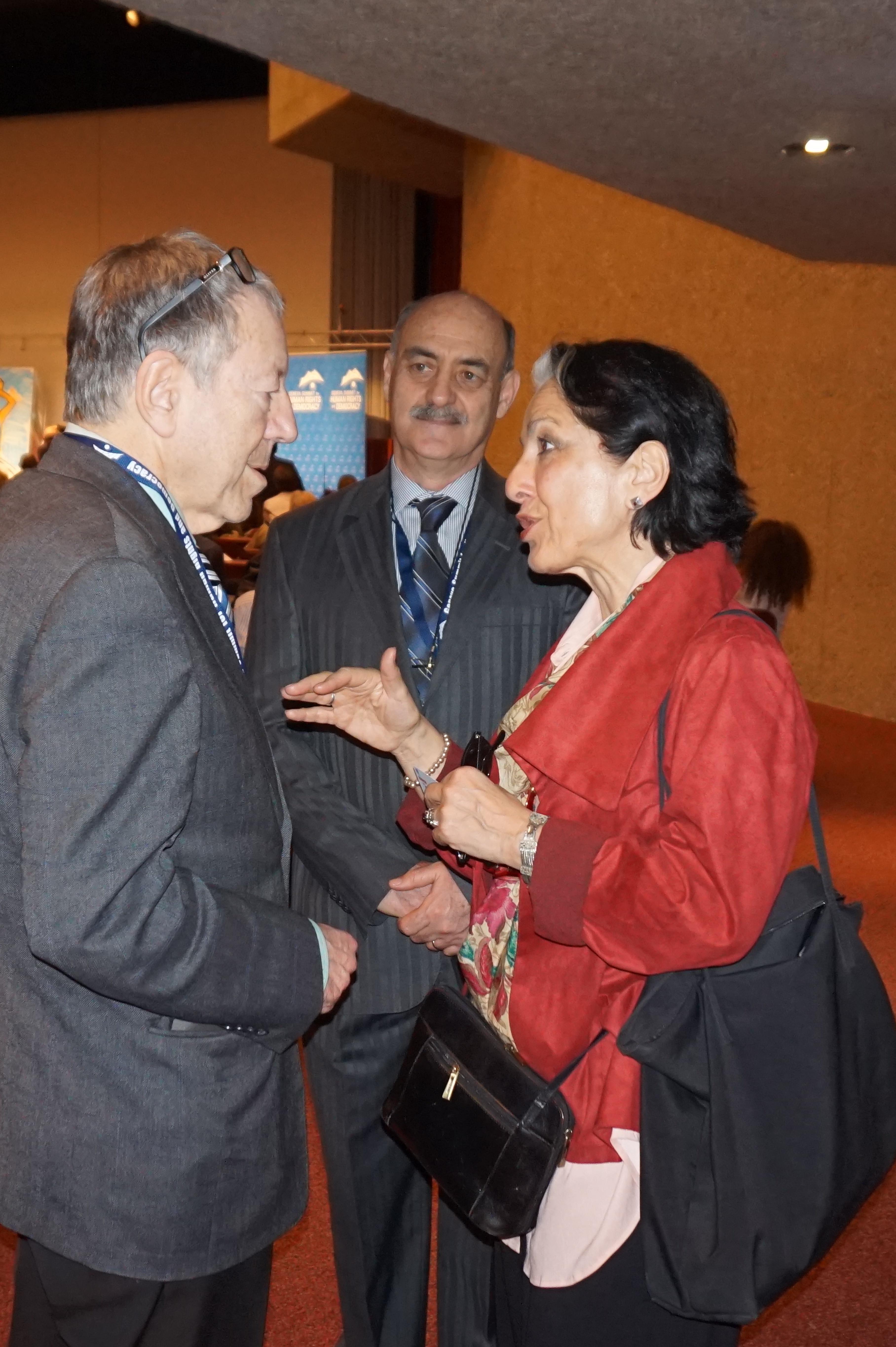 """منشقان عن """"المجلس الوطني للمقاومة الإيرانية"""" يشاركان في مؤتمر دولي لحقوق الإنسان في جنيف"""