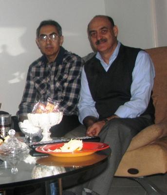 داود و مسعود بنی صدر
