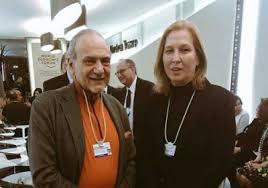 سرور و قیم مریم رجوی در همبستگی با وزیر خارجه ا سرائیل