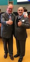 آقای هانز ون بالین دبیرکل حزب اتحاد لیبرالها ودمکراتهای Alde (آلده) اتحادیه اروپا و آقای داود ارشد