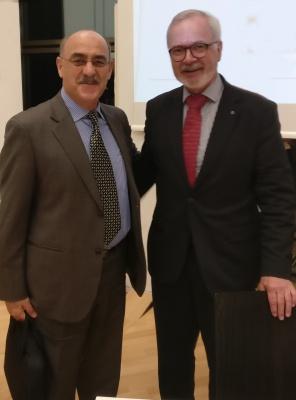 رئیس بانک سرمایه گذاری اتحادیه اروپا دکتر ورنر هویر و آقای ارشد