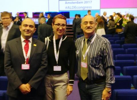 ملاقات با اعضای پارلمان ارمنستان خانم مانه تاندلیان و آقای ادموند ماروکیان