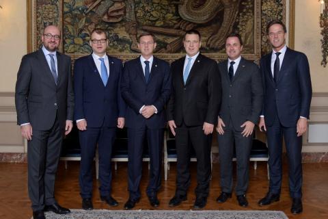 نخست وزیران شرکت کننده در کنگره