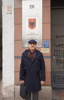 ملاقات آقای داود ارشد با مسئولین سفارت آلبانی در برلین