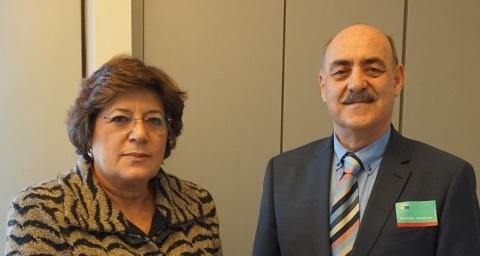 دیدارآقای داود ارشد با نماینده سوسیال دمکرات پارلمان اروپا خانم آناگومز