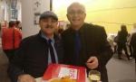آقای داود ارشد و آقای اودو بولمن معاون دبیرکل حزب سوسیال دمکراتهای اتحادیه اروپا