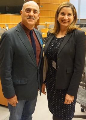 ملاقات آقای داود ارشد با سفیر ونزئولا در بلژیک، لوکسامبورگ و اتحادیه اروپا خانم کلودیا سارنو کالدرا