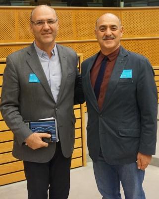 آقای داود ارشد و آقای گولرمو کارمونا عضو پارلمان آرژانتین