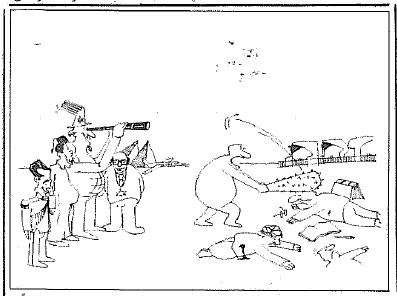 کاریکاتور چماقداری نشریه 93