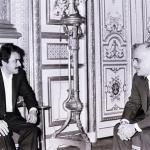 مسعود رجوی در خدمت ملک حسین