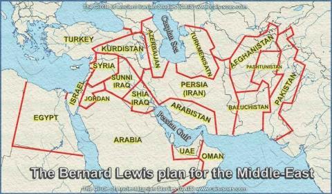 Bernard Lewis plan for Middle East