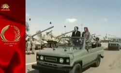 مسعودرجوی و رژه ارتش پوشالی1