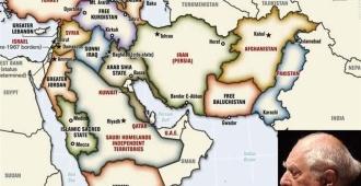 طرح تجزیه ایران و خاور میانه برنارد لوئیس