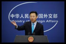 ژائو لیجیان سخنگوی وزارت خارجه چین