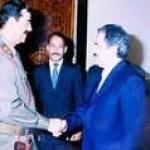 مسعودرجوی در خدمت قاتل ایرانیان و عراقیان و کردها