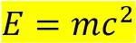 فرمول انشتین