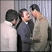 دیدار صدام و رجوی