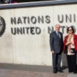 کنفرانس حقوق بشر به همراه خانم هشترودی